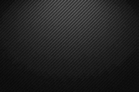 Texture de fibre de carbone de vecteur. Fond sombre avec éclairage. Vecteurs