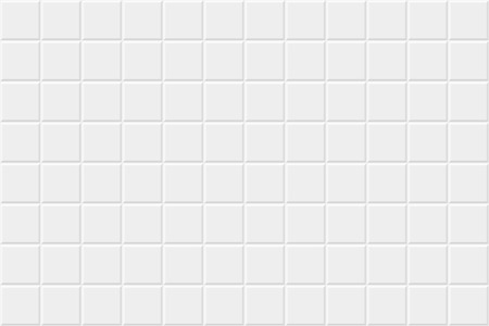 White horizontal background with tiles. Vector seamless pattern.