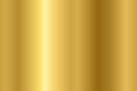 Vector gold background. Seamless gold metal texture. Illustration