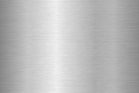 Brushed metal texture. Steel background. Vector illustration. Illustration