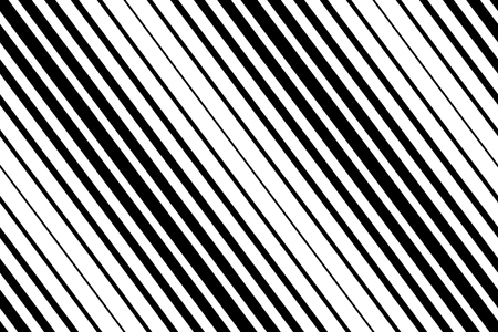 Vector diagonal striped horizontal background. Geometric seamless pattern.
