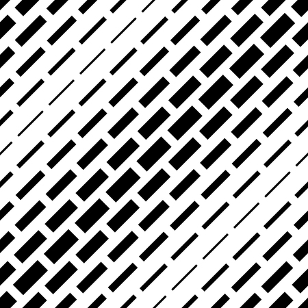 Vector texture with rectangles. Geometric monochrome seamless pattern.