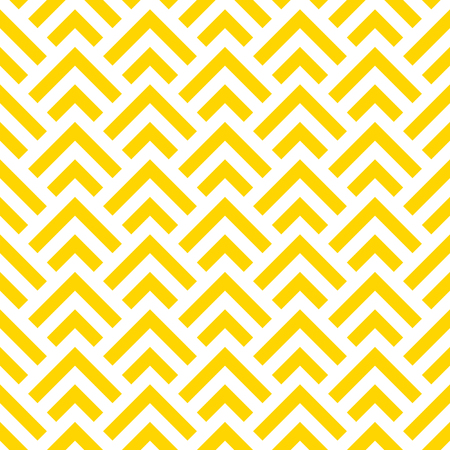 Seamless geometric yellow pattern. Vector abstract background. Modern texture.