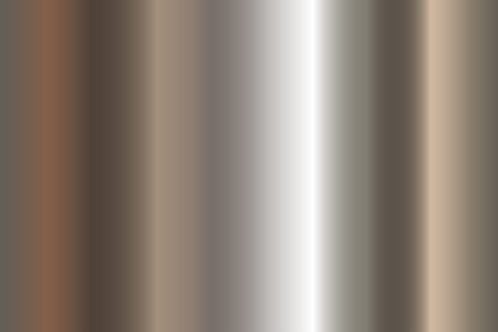 Seamless shiny metal gradient texture. Vector horizontal steel background.