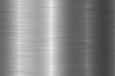 Seamless brushed metal texture. Vector steel background with scratches. Stock Vector - 124294803