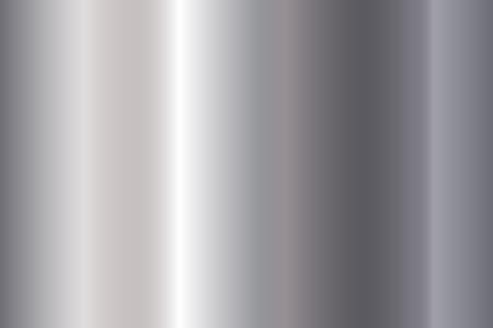Seamless shiny metal gradient texture. Vector horizontal steel background. Stock Vector - 124294804