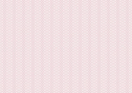 Vector certificate texture. Seamless geometric banknote pattern.