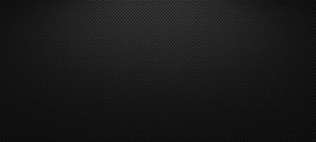 Vector carbon fiber texture. Dark background with lighting. Standard-Bild - 146456658