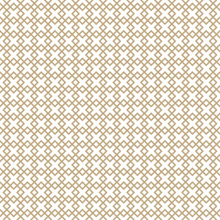 Seamless simple gold geometric pattern. Vector linear modern texture. Standard-Bild - 151009451
