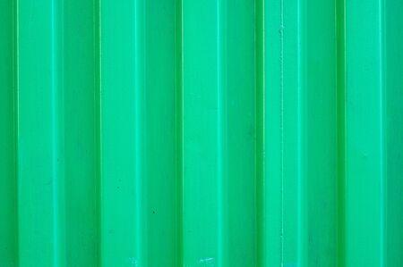 green metal siding photo