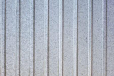 grey metall siding photo