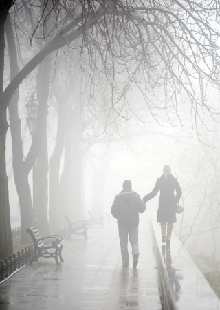 love the misty streets