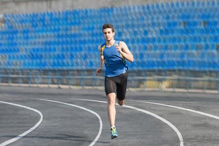 Running man 写真素材