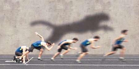빠른 경주 시작