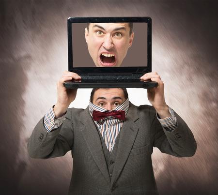 PERSONALITY: Virtual personality concept Stock Photo