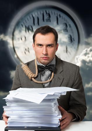 deadline: Deadline business concept Stock Photo