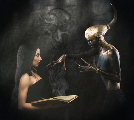 familiar: Witch and her familiar