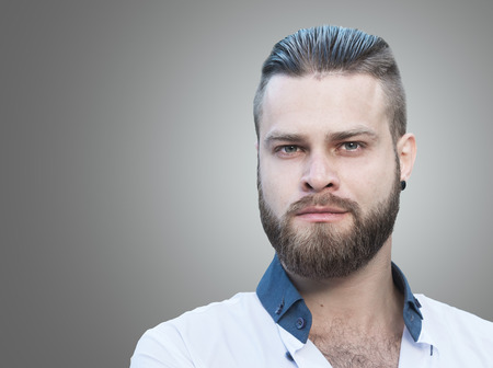 beard man: Male portrait