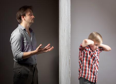 父と息子間の問題 写真素材 - 46643404