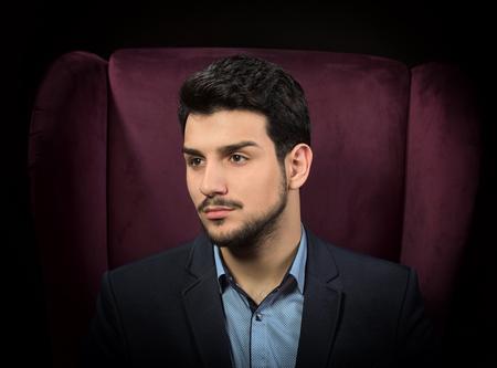 handsome men: Hombre hermoso Foto de archivo