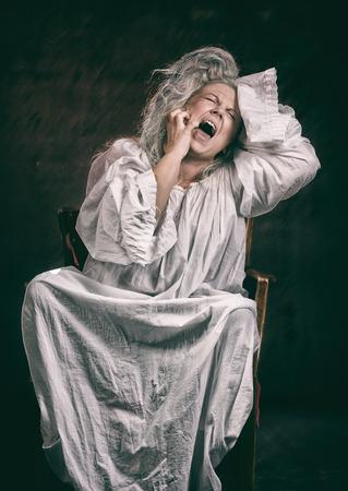 bedlam: Insane woman