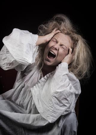 madhouse: Insane woman