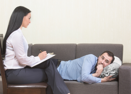 clinical psychology: Psychotherapy session