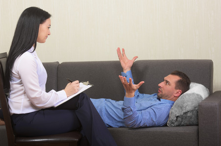 psychotherapy: Psychotherapy session
