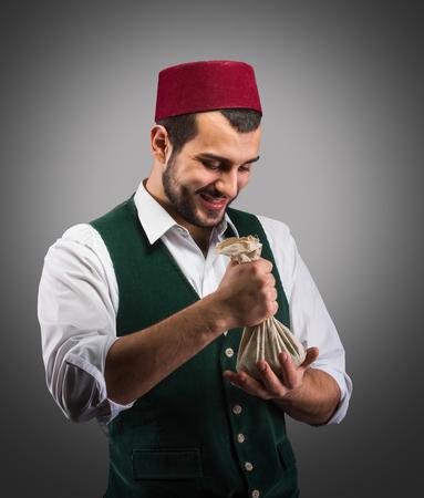 merchant: Successful merchant, concept