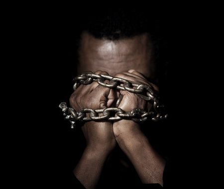 Black Man In Chains