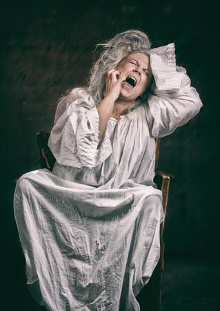 Insane woman
