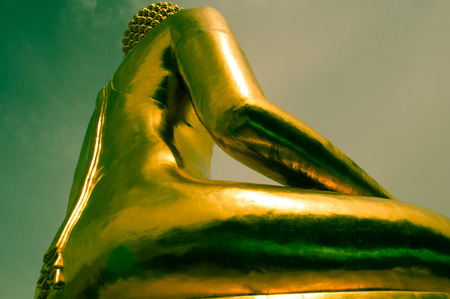 Giant Golden Buddha, Golden Triangle, Thailand