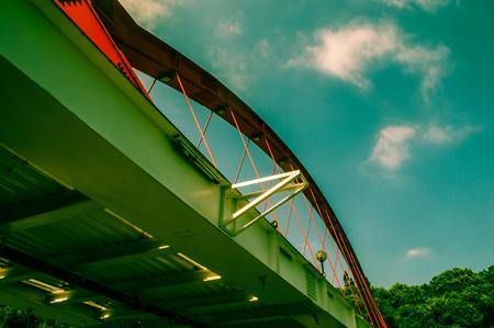 Bridge in Hualien City, Taiwan