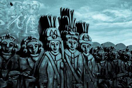 Aboriginal sculptures