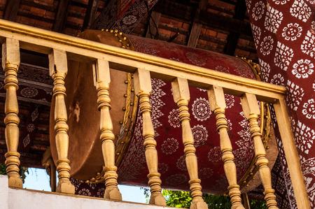 Gong Luang Prabang Laos Stock Photo