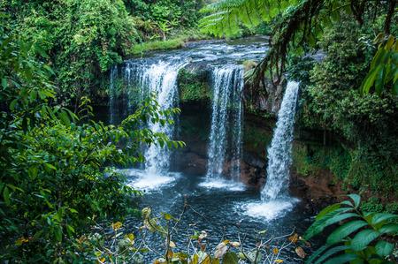 Waterfall in Pakse Pakse Laos