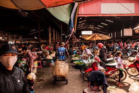 Market in Pakse Pakse Laos