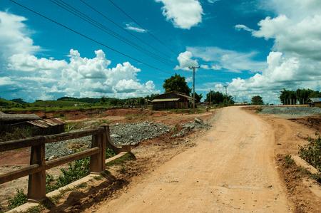 Road, toward the Plain of Jars, Laos