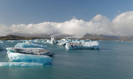 Iceburgs in a Glacial Lagoon