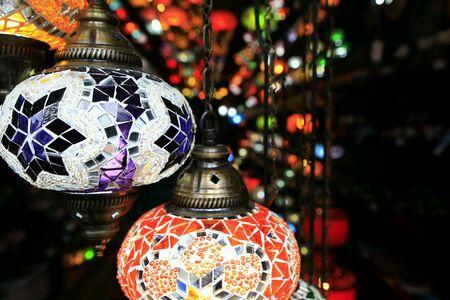 multicolor lantern: Colors of Morocco