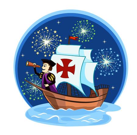 columbus: Columbus on the ship for design