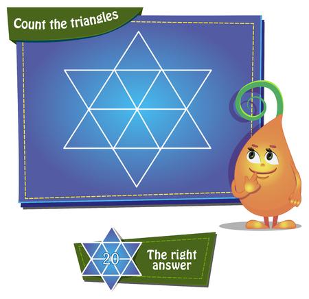 for children: Visual Game for children. Illustration