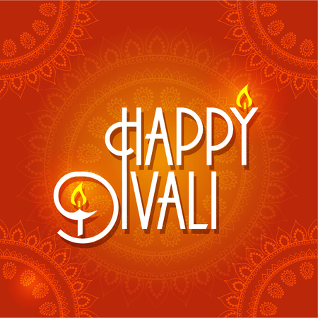 worship: seamless background for diwali celebration