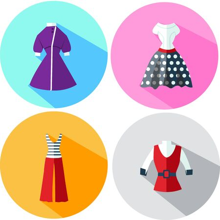 womens clothing: Womens clothing in retro style