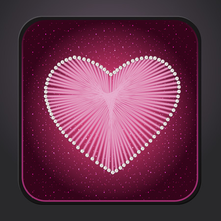 acquaintance: Icon heart for your design
