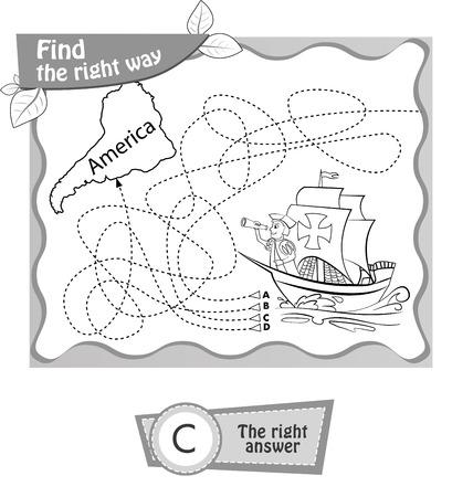 Juego Visual, Libro Para Colorear Para Niños. ¿Qué Viene Después ...