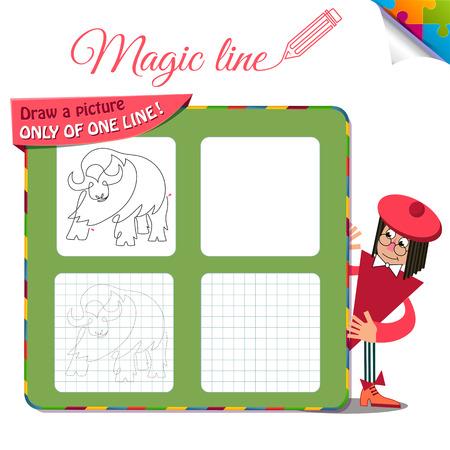 Juego Visual Para Niños. Educación De Libros Para Colorear. Tarea ...
