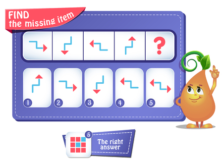 educational game for kids and adults development of logic. Task game for children.