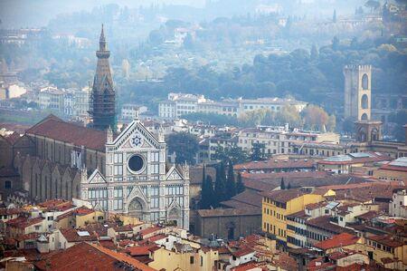 Basilica Santa Croce. Florence, Italy photo