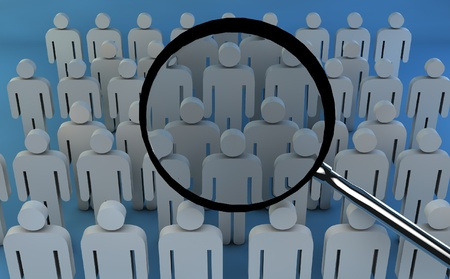 elected: Find people horizontally